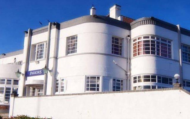 The Park Hotel Tynemouth вид на фасад