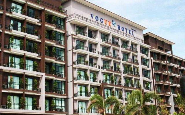 Vogue Pattaya Hotel вид на фасад