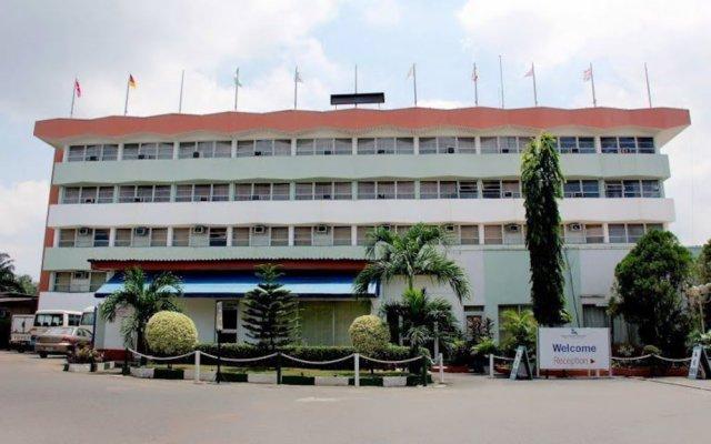 Lagos Airport Hotel вид на фасад