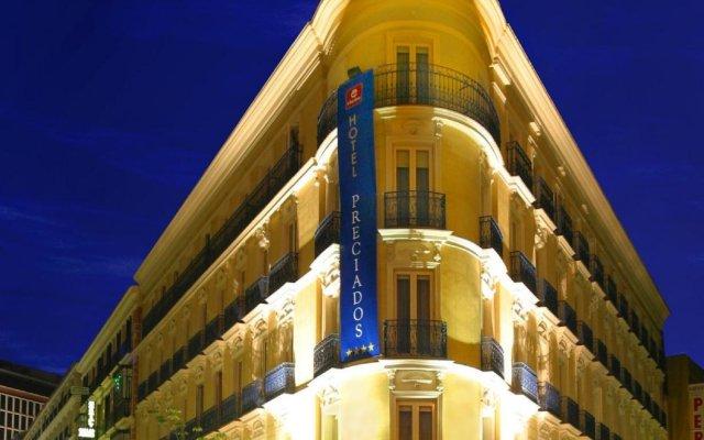 Отель Preciados Испания, Мадрид - отзывы, цены и фото номеров - забронировать отель Preciados онлайн вид на фасад