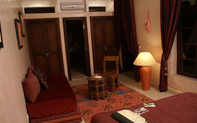 Отель Riad Nabila Марракеш комната для гостей