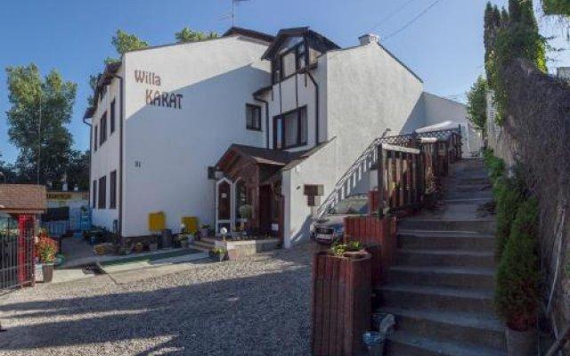 Отель Willa Karat II Польша, Сопот - отзывы, цены и фото номеров - забронировать отель Willa Karat II онлайн вид на фасад
