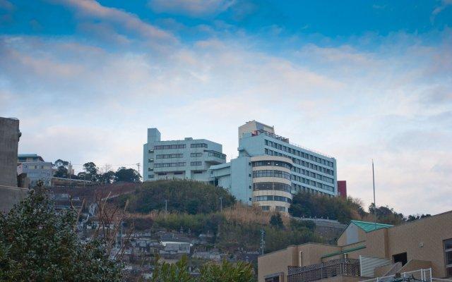 Hotel Nagasaki Нагасаки вид на фасад