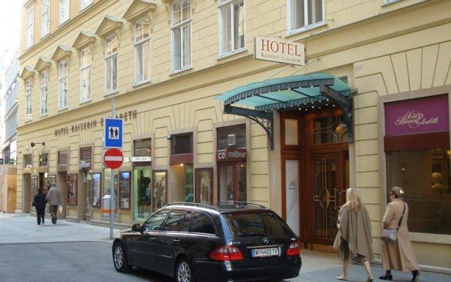 Отель Kaiserin Elisabeth Вена вид на фасад