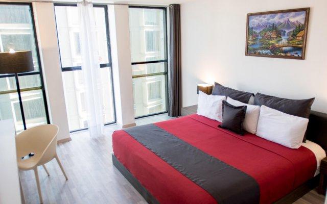 Отель Del Angel Мехико комната для гостей