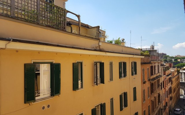 Апартаменты Apollo Apartments Colosseo вид на фасад