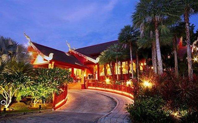 Отель Kata Palm Resort & Spa вид на фасад