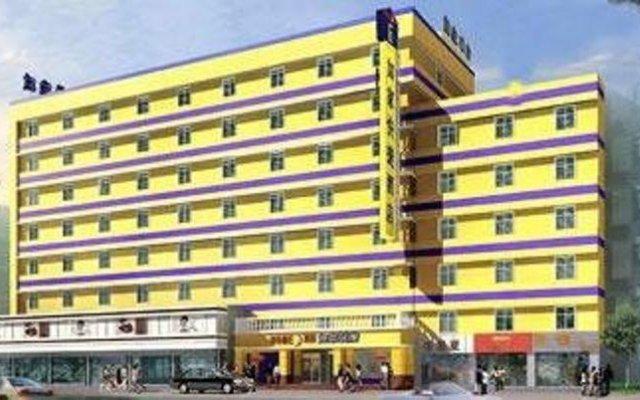 Отель Home Inns - Luohe вид на фасад