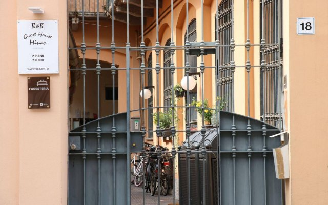 Minas Hostel вид на фасад