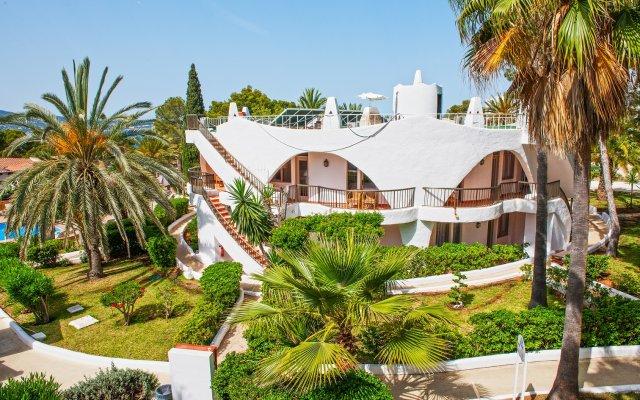 Отель Marble Stella Maris Ibiza Испания, Сан-Антони-де-Портмань - отзывы, цены и фото номеров - забронировать отель Marble Stella Maris Ibiza онлайн вид на фасад