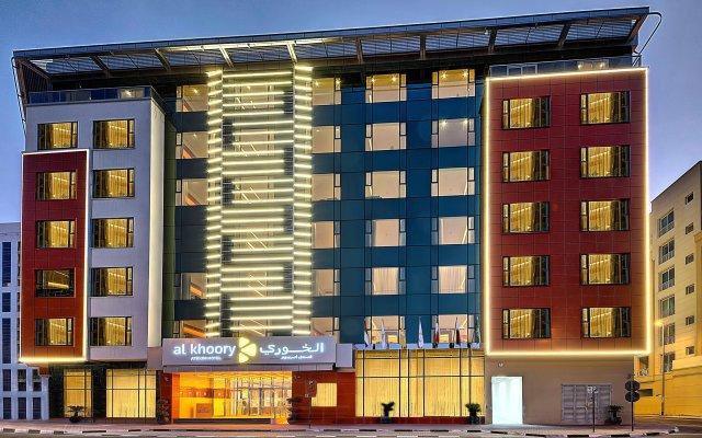 Al Khoory Atrium Hotel вид на фасад