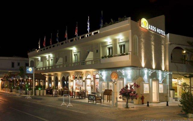 Axos Hotel вид на фасад