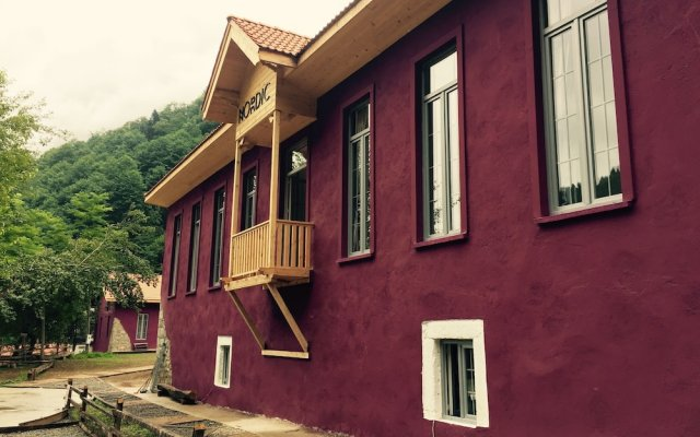 Nordic Hotel Чамлыхемшин вид на фасад