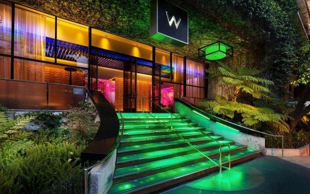Отель W Los Angeles - West Beverly Hills вид на фасад