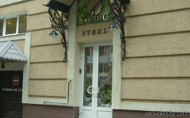 Мини-Отель Оазис вид на фасад