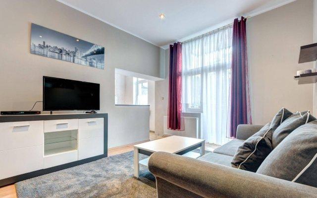 Отель Dom & House - Sopot Apartments Польша, Сопот - отзывы, цены и фото номеров - забронировать отель Dom & House - Sopot Apartments онлайн комната для гостей