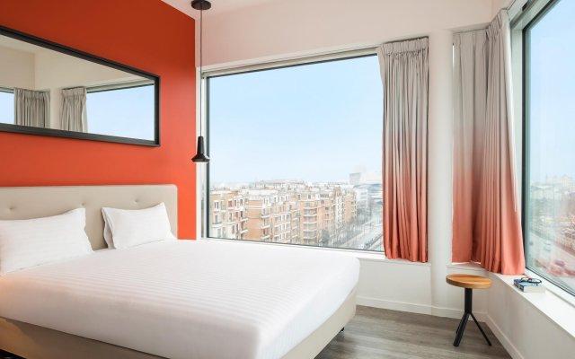 Отель Hipark by Adagio Paris La Villette Франция, Париж - отзывы, цены и фото номеров - забронировать отель Hipark by Adagio Paris La Villette онлайн комната для гостей