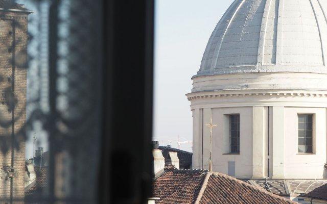 Отель Art Residence San Domenico вид на фасад