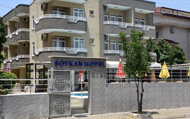 Soykan Hotel Мармарис вид на фасад