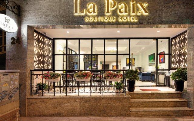 Отель La Paix Hotel Вьетнам, Ханой - отзывы, цены и фото номеров - забронировать отель La Paix Hotel онлайн вид на фасад
