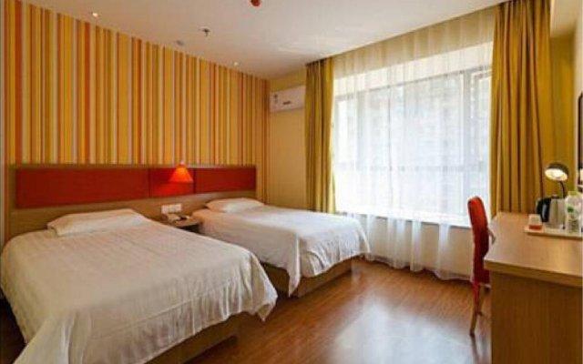 Отель Home Inn Beijing Xidan Joy City Китай, Пекин - отзывы, цены и фото номеров - забронировать отель Home Inn Beijing Xidan Joy City онлайн комната для гостей