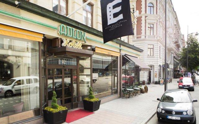 Elite Hotel Adlon вид на фасад