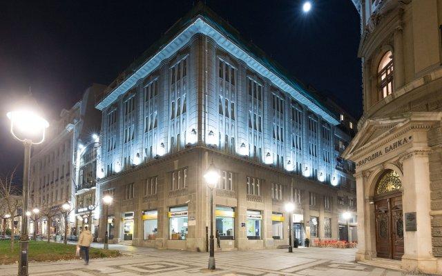 Hotel Capital вид на фасад