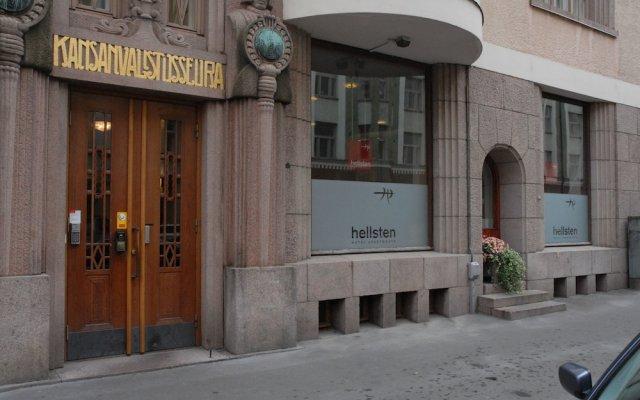 Отель Hellsten Helsinki Parliament вид на фасад