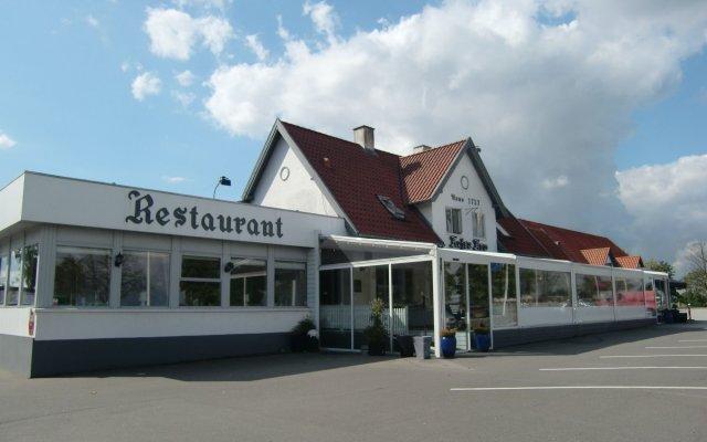Отель Hejse Kro вид на фасад