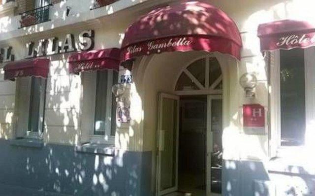 Отель Lilas Gambetta вид на фасад