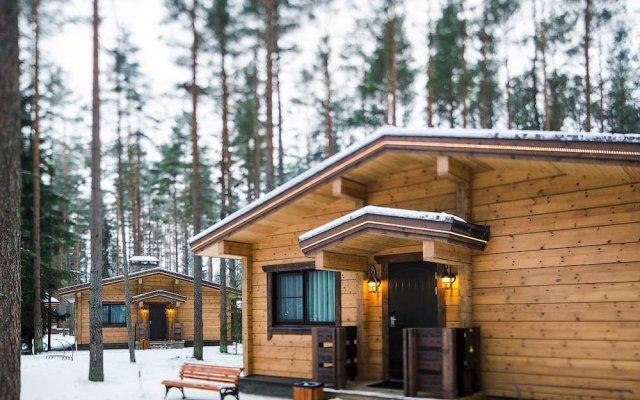 Гостиница Okhta park вид на фасад