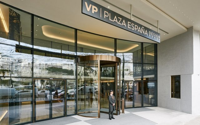 Отель Vp Plaza Espana Design Мадрид вид на фасад