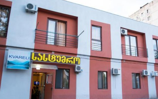 Отель Kvareli Грузия, Тбилиси - отзывы, цены и фото номеров - забронировать отель Kvareli онлайн вид на фасад
