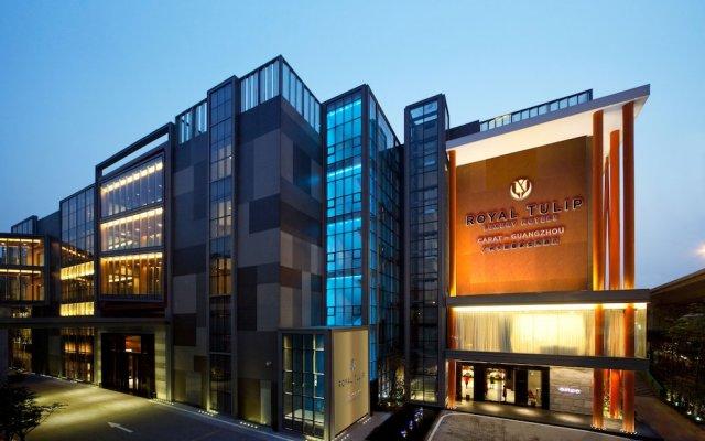 Отель Royal Tulip Luxury Hotels Carat Guangzhou Гуанчжоу вид на фасад