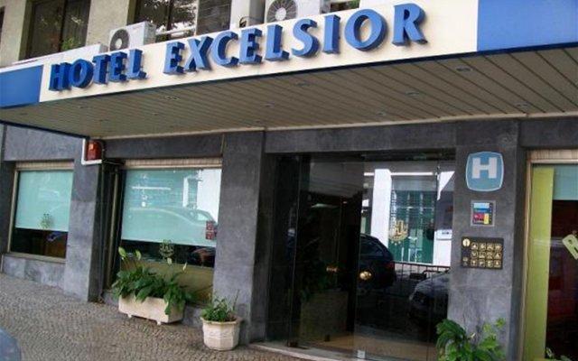 Hotel Excelsior Лиссабон вид на фасад