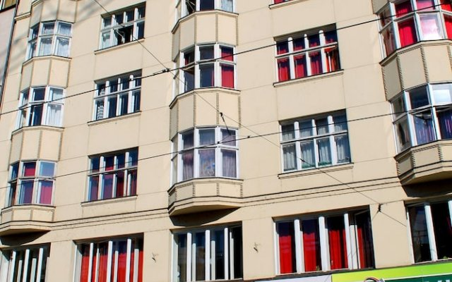 Hostel Downtown вид на фасад