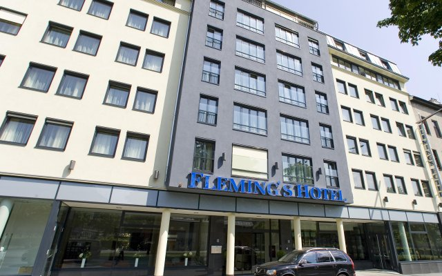 Fleming's Conference Hotel Wien вид на фасад
