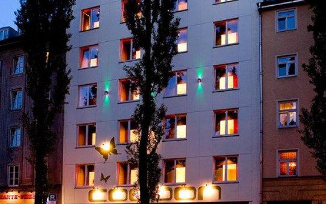 Отель Cocoon Германия, Мюнхен - отзывы, цены и фото номеров - забронировать отель Cocoon онлайн вид на фасад