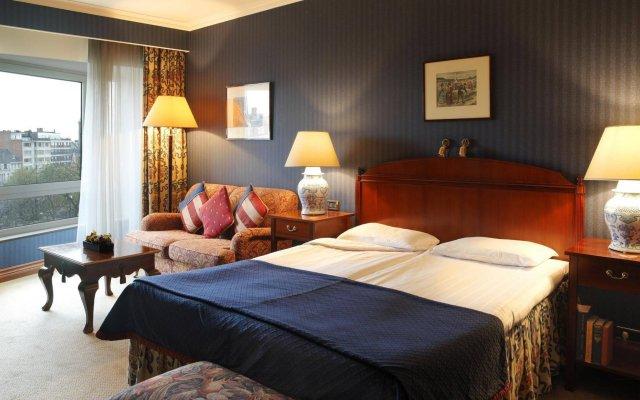 Отель Eurostars Montgomery Брюссель комната для гостей