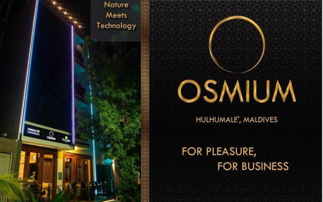 Отель Osmium Мале вид на фасад