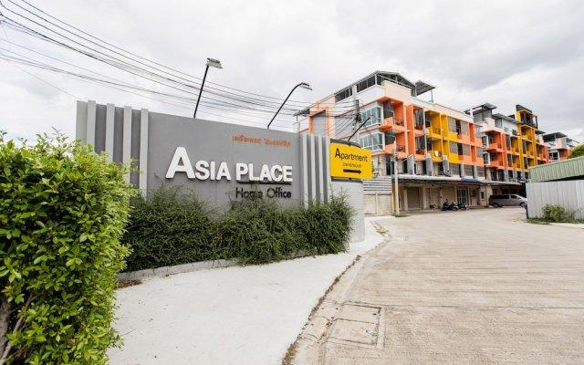 Апартаменты Asia Place Apartment Бангкок вид на фасад