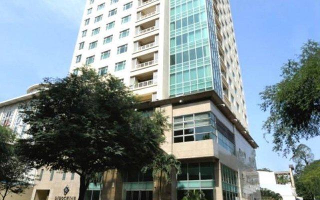 Отель Indochine Park Tower Serviced Apartment Вьетнам, Хошимин - отзывы, цены и фото номеров - забронировать отель Indochine Park Tower Serviced Apartment онлайн вид на фасад