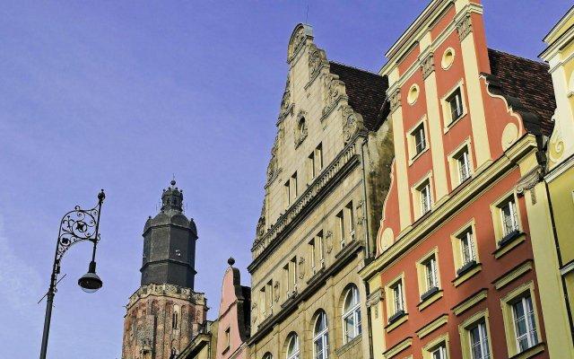 Отель Sofitel Wroclaw Old Town Hotel Польша, Район четырех религий - отзывы, цены и фото номеров - забронировать отель Sofitel Wroclaw Old Town Hotel онлайн вид на фасад