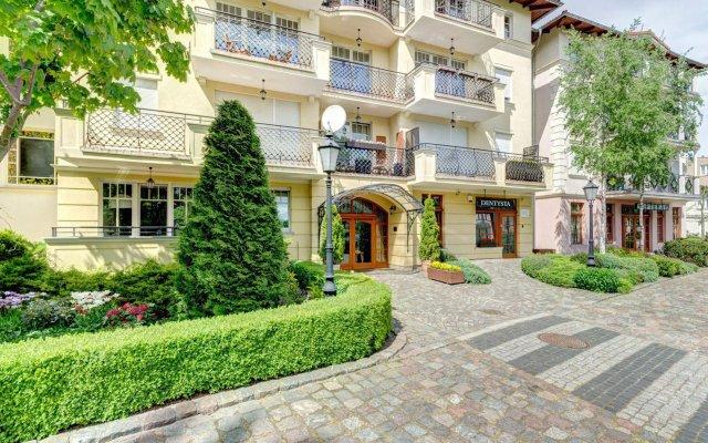 Апартаменты Dom & House - Apartments Patio Mare Сопот вид на фасад