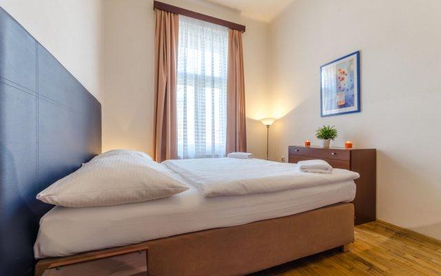 Отель V lesicku residence Чехия, Прага - отзывы, цены и фото номеров - забронировать отель V lesicku residence онлайн комната для гостей