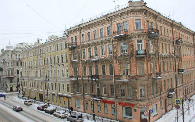 Гостевой Дом Пять Вечеров Санкт-Петербург вид на фасад