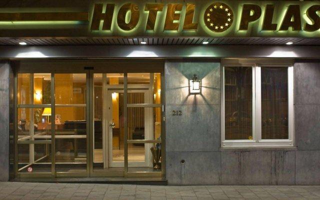 Отель Plasky Бельгия, Брюссель - отзывы, цены и фото номеров - забронировать отель Plasky онлайн вид на фасад