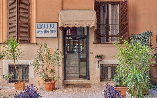 Отель Washington Resi Рим вид на фасад