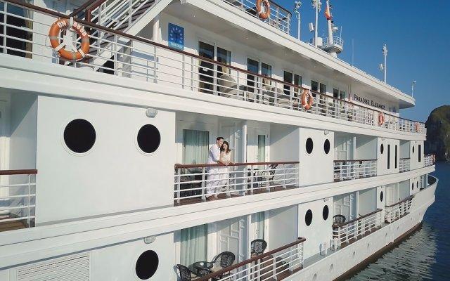Отель Paradise Peak Cruise Халонг вид на фасад