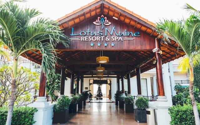 Отель Lotus Muine Resort & Spa Вьетнам, Фантхьет - отзывы, цены и фото номеров - забронировать отель Lotus Muine Resort & Spa онлайн вид на фасад